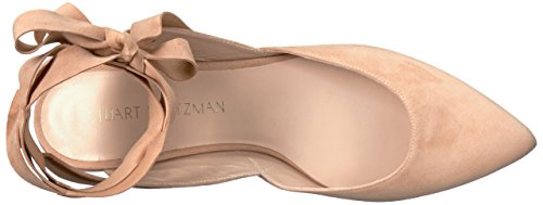 Stuart Weitzman Womens Supersonique Ballet Plat Nue