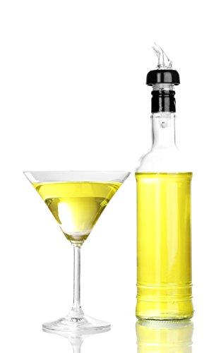 Tiger-Chef-1-OZ-Measured-Liquor-Pourer-Tail-with-Collar-Liquor-Spout-Pourer-Pack-of-12