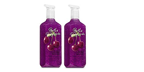 Bath and Body Works Black Cherry Merlot Deep Cleansing Hand Soap (Pack of - Soap Cleansing Wash Hand