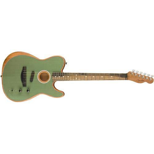 Fender American Acoustasonic Telecaster Acoustic-Electric Guitar Surf Green
