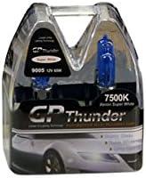 Pack of 2 GP Thunder SGP75-H11 Super White 7500K 55W Xenon Quartz Light Bulb,