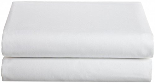 Bella Kline 100% Cotton Jersey Knit Hospital Bed Bottom Fitted Sheet - 2 Pack