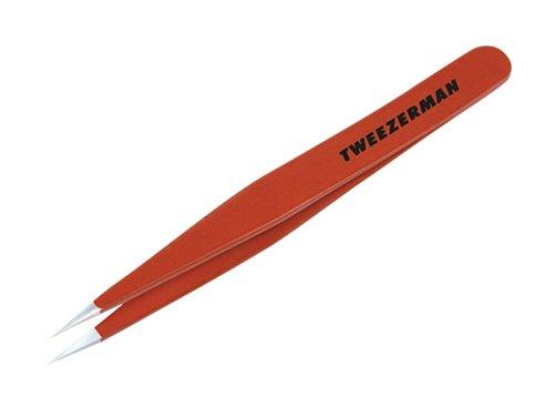 Tweezerman Point Tweezer, Signature Red by Tweezerman