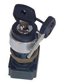 Cram-a-lot Key Switch - 3 Position; 22 mm