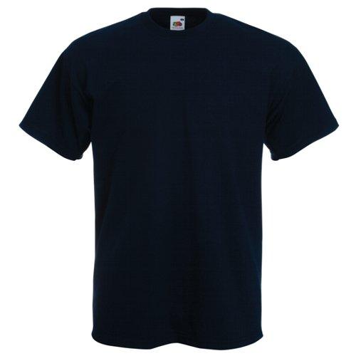 Fruit of the Loom Super Premium T-Shirt–Deep Navy Medium