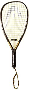 HEAD i.165 Racquetball Racquet, Strung, 3 5/8 Inch Grip