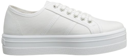 Adulte Basses Blanc Lona Mixte Victoria Blanco 20 Plataf Basket qwAX7at1