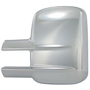 OC Parts Chevy Silverado-2500 Chrome Tow Mirror Covers (2 Piece): Fits 2007, 2008, 2009, 2010, 2011, 2012 and 2013 ()