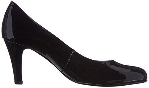 Gabor Shoes Gabor - zapatos de tacón cerrados de cuero mujer negro - Schwarz (schwarz (+Absatz))