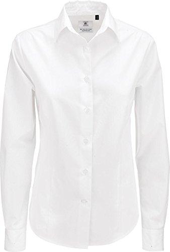 B&C - Camiseta - para mujer blanco