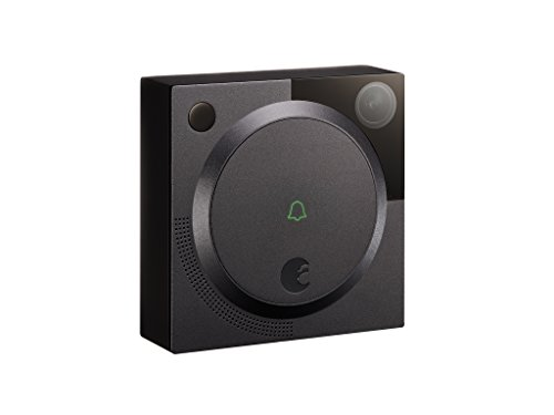 August Wi-Fi Smart Video Doorbell Dark Gray AUG-DBCAM-GRAY