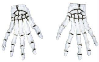 Gloves Skeleton Costume (Kids Skeleton Makeup)