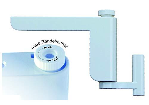Türschließer ClipClose Minitürschließer Türanlehner in weiß Montage ohne bohren oder schrauben Endresco Marketing GmbH