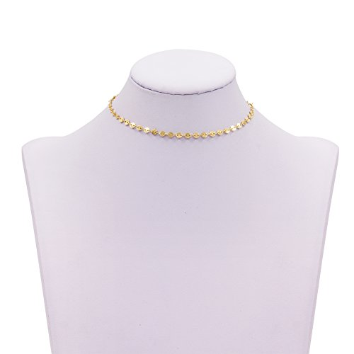 Geerier Charming Choker Necklace Dangle