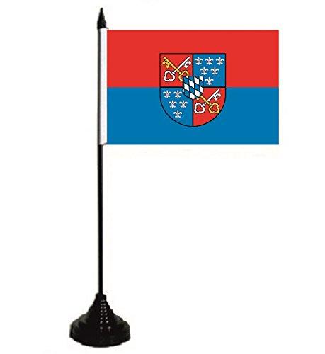U24 tavolo bandiera Berchtesgaden Bandiera Bandiera tavolo bandiera 10 x 15 cm