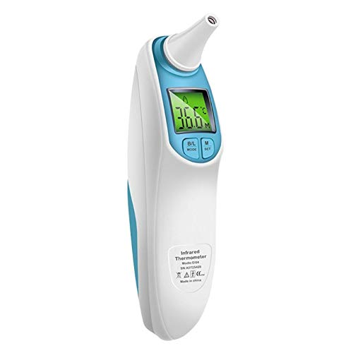 Ants-Store - Infrared Ear Forehead Thermometer Digital LCD Display For Baby Adut Health Care ()
