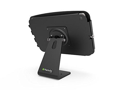 Maclocks 303B290SENB Secure Space Enclosure Kiosk with 360 Degree Rotation for iPad Pro 12.9 (Black ) by Compulocks (Image #2)