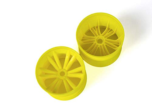 SKB family BSR Berserker 1/8 Electric Truggy - Rim (Yellow) (1 Pair) 817251-Y