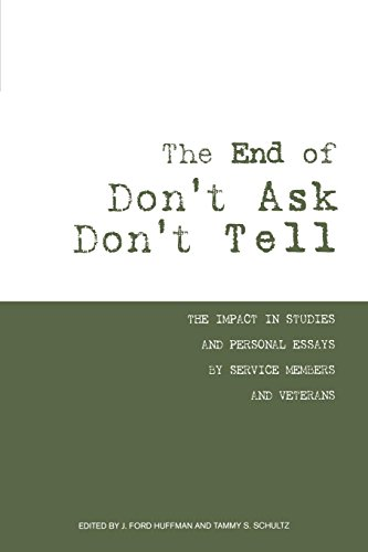 The End of Don't Ask Don't Tell