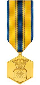 Medals of America Air Force Commendation Medal Miniature Anodized