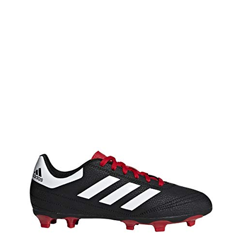 Adidas Unisex Goletto Vi Firm Ground, Black/White/Scarlet, 11.5K M US Little Kid