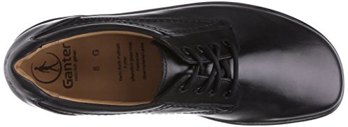 Ganter Eric, Weite G 2-256001-01000 - Zapatos de cuero para hombre, Negro, 40