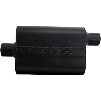 "Flowmaster Super 44 Series Stainless Steel Muffler 2.5/"" C//O 842547"