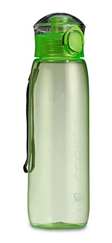 All Time Cresta Unique Sports Travel Polycarbonate Water Bottle, 750ml, Green