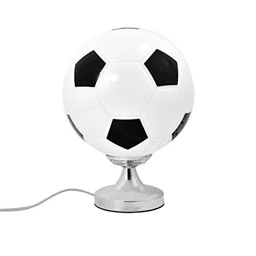 Lámpara de escritorio de fútbol E27 Dormitorio creativo Lámpara de ...