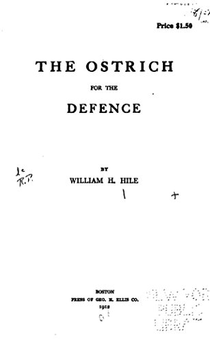 Antique Ostrich - The ostrich for the defence