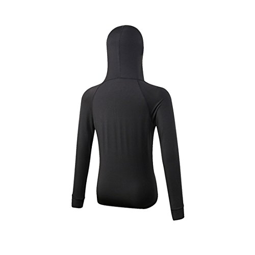 con cappotto Toexy Top Felpa Yoga Manica lunga Nero Exercise Sportivo Training Ginnastica Jogging donne Fitness Tessuto leggero funzionale per Giacche le Atletica tasche respirabile wwUSFq