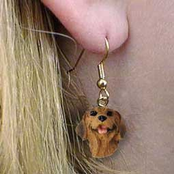 Conversation Concepts Rhodesian Ridgeback Earrings Hanging