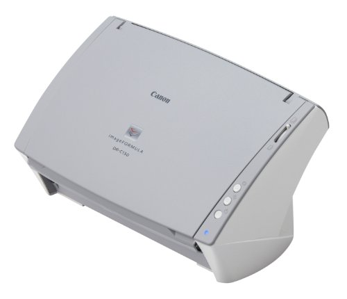 Canon 6583B002 imageFORMULA DR-C130 - Document scanner - Duplex - Ledger - 600 dpi x 600 dpi - up to 30 ppm (mono) / up to 30 ppm (color) - ADF ( 50 sheets ) - up to 2000 scans per day - USB 2.0 ()
