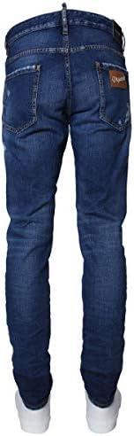 Dsquared2 Homme S71LB0641S30663470 Bleu Coton Jeans