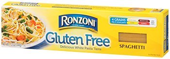 Ronzoni Gluten Free Thin Spaghetti 12 oz (Pack of 4)