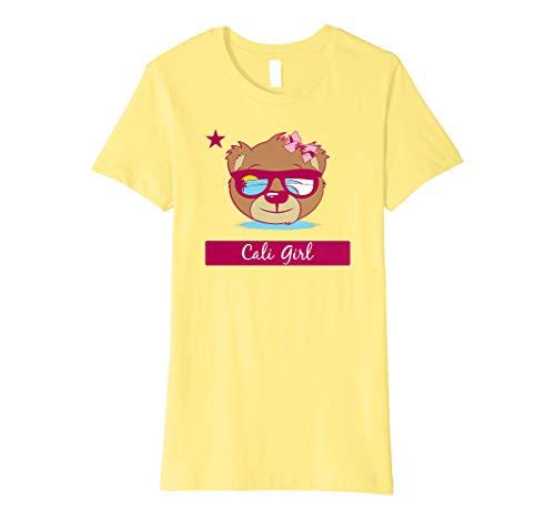 Girls California Bear Shirt: Cali Girl - California T-shirt Girls
