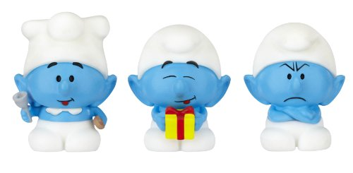 llage, Micro Figures Cook, Grouchy, and Jokey, 3-Pack ()