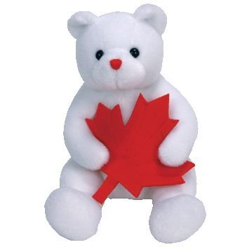 1 X TY Beanie Baby - NORTHLAND the Bear (Canada Exclusive)