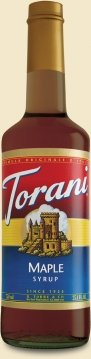 Torani Maple Syrup, 750 mL (Maple Syrup Brands)
