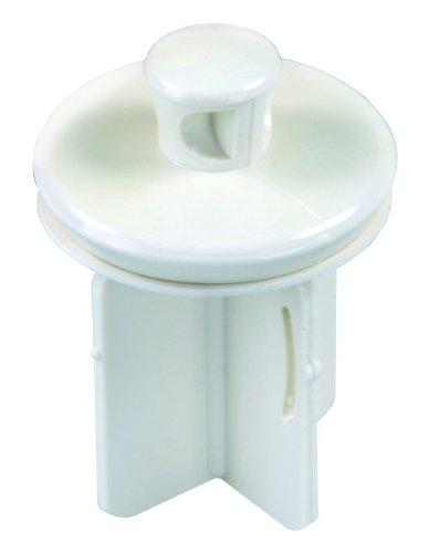 Lav Stopper - JR Products 95225 Four-Stem Pop-Up Stopper - Parchment