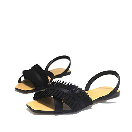 Women's Sandals Rome Shoes Wind Netting Flip Flop Flats Women Shoes Sandals - Netting Hs