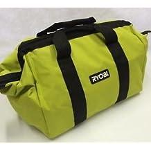 "New Ryobi 18"" x 12"" x 12"" Contractors Heavy Duty Green Tool Bag"
