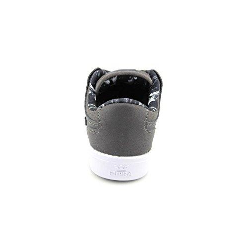 Supra Heren Vaider Lc Houtskool / Wit 1 Sneaker Heren 10, Dames 11.5 D (m)