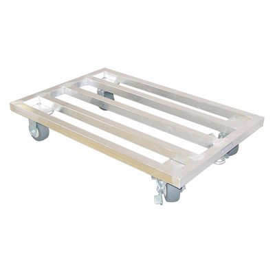 "Mobile Dunnage Rack Size: 7.5"" H x 30"" W x 24"" D"