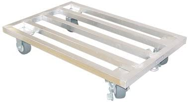 Mobile Dunnage Rack Size 7 5 H X 36 W X 24 D Kitchen Dining