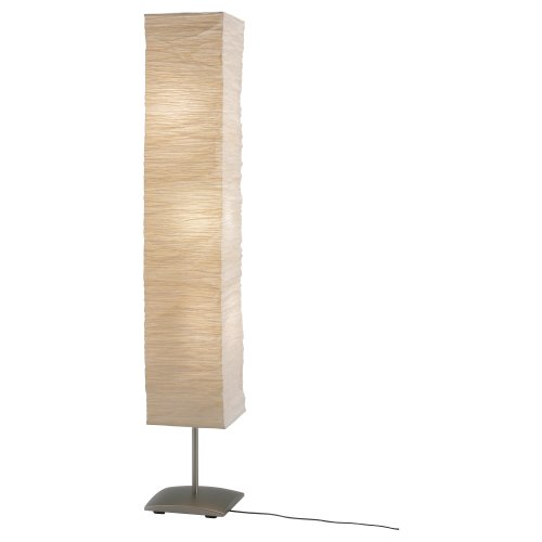 Rice Paper Shade Mood Floor Lamp With 6 Warm LED Bulbs Are Included   Light  Bulbs   Amazon.com