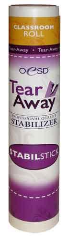 OESD Stabil-Stick Tear-Away Stabilizer, Smaller Classroom Size Roll 10
