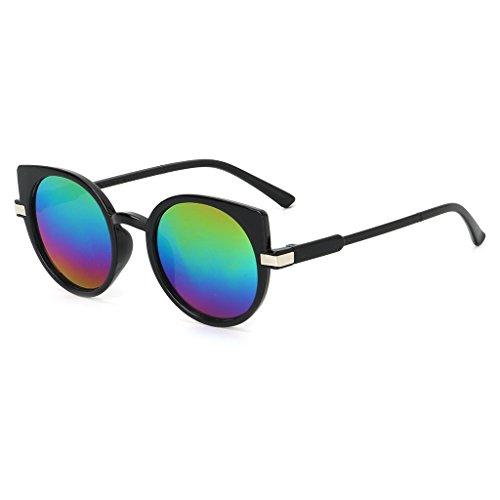 UV400 Eye Kalttoy lunettes lentille unisexe soleil Coloré mode luxe marque océan de lunettes de Cat Designer U5wqp7