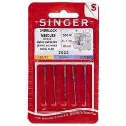 Singer Serger Regular Point Needles - Size 11 4337008696