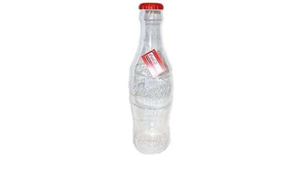Coca Cola gigante para ahorrar dinero botella de la moneda dinero del banco caja de dinero de la botella de Coca-Cola: Amazon.es: Hogar
